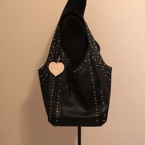 Imoshion Bag NWT Black w/ Crystals & Studs Lovely!